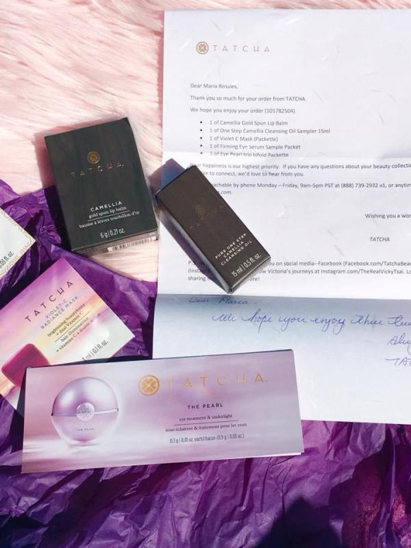 Tatcha greeting letter