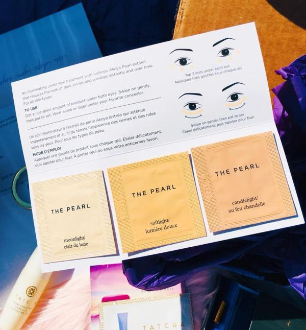 Tatcha sample #3 - interior view