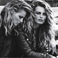 "Edita Vilkeviciute & Magdalena Frackowiak. ""The Wild Ones"". W. September 2013"