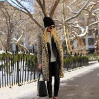 Leopards And Beanie. Blair Eadie