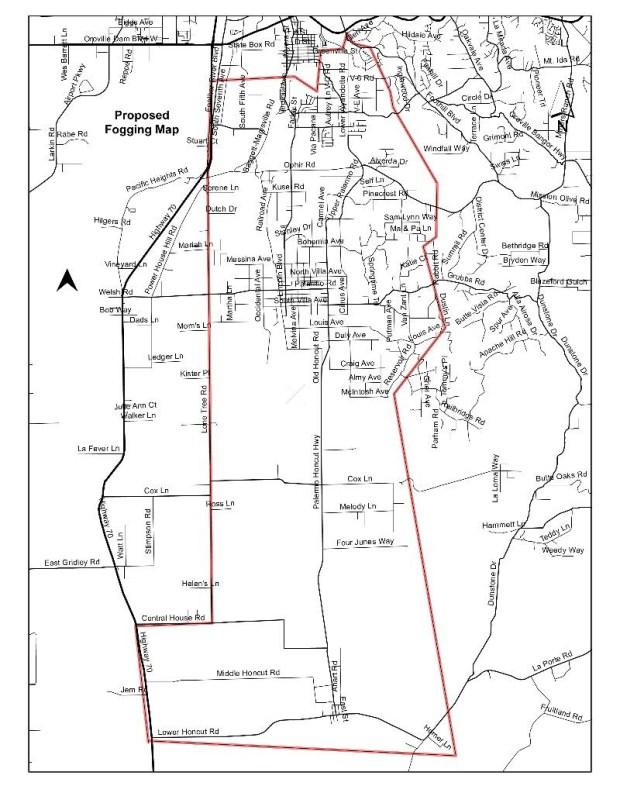 Mosquito spraying planned near Oroville – Oroville Mercury