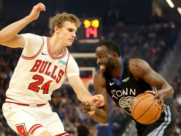 Draymond Green makes impact in return as mending Warriors defeat Bulls 104-90