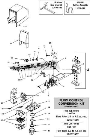 Cornelius UF1  PARTS [UF1 Parts] : The CHI Company, New