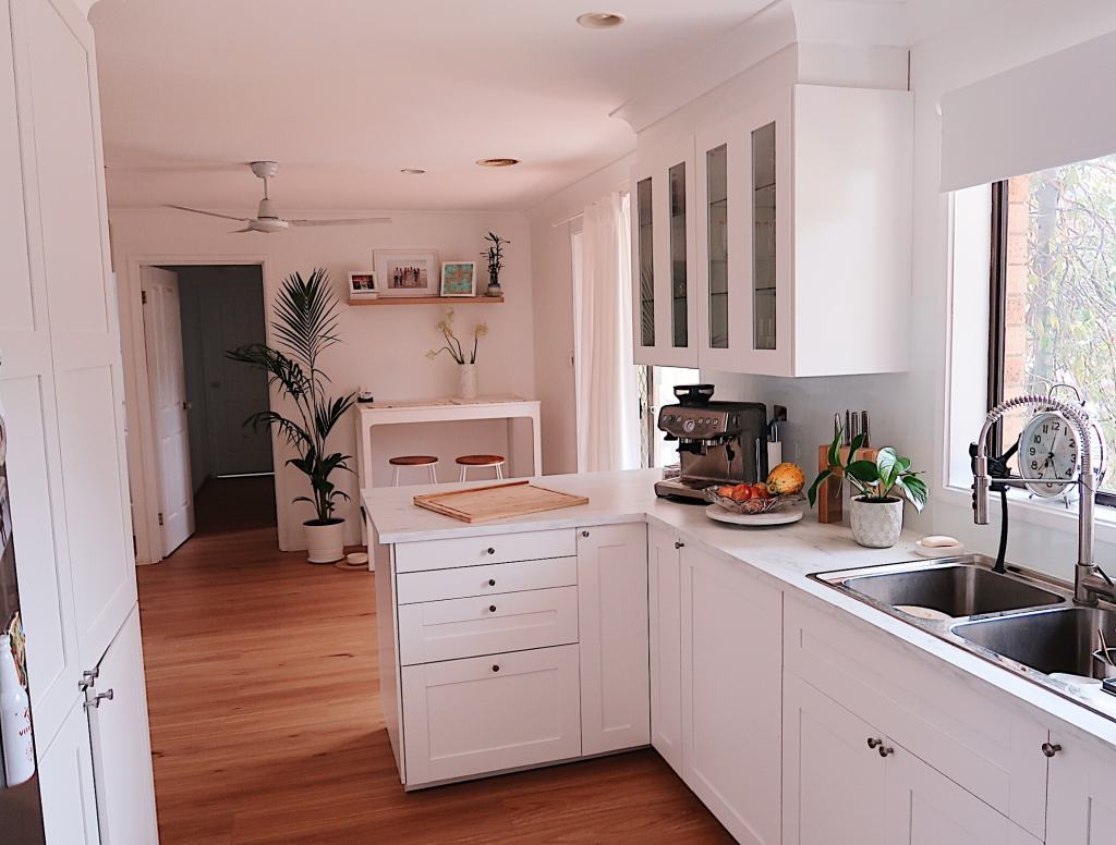 DIY home renovations IKEA kitchen