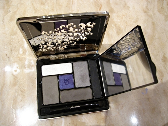 Guerlain Colors fall 2010 precious eyeshadow palette Guerlain Colors (Couleurs) Makeup Collection for Fall 2010   Information, Photos & Swatches
