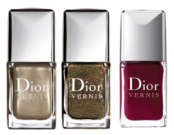 Dior Holiday 2010 dior vernis nail polish Dior Minaudiere Holiday 2010 Makeup Collection New Photos