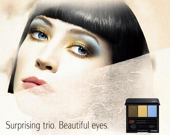 Shiseido Fall 2010 makeup collection promo Shiseido Makeup Collection for Fall 2010   New Photos + Information