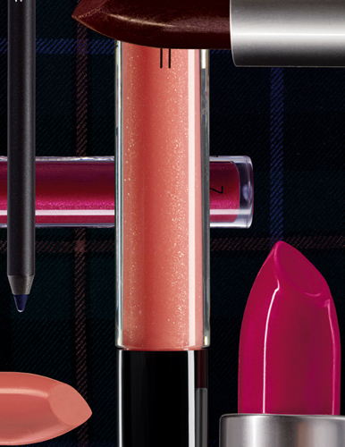 MAC Holiday 2010 A Tartan Tale Makeup Collection promo lipsticks MAC A Tartan Tale Collection for Holiday 2010   Information, Photos, Prices