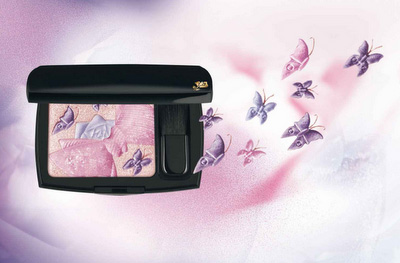 Lancome spring 2011 Ultra Lavande Collection Aaron de Mey Butterfly Blush Lancome Ultra Lavande Collection for Spring 2011 by Aaron de Mey