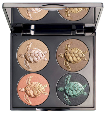 Chantecaille 2011 Spring Sea Turtle Eyeshadow Palette Chantecaille Makeup Collection for Spring 2011   Information & Promo Photos