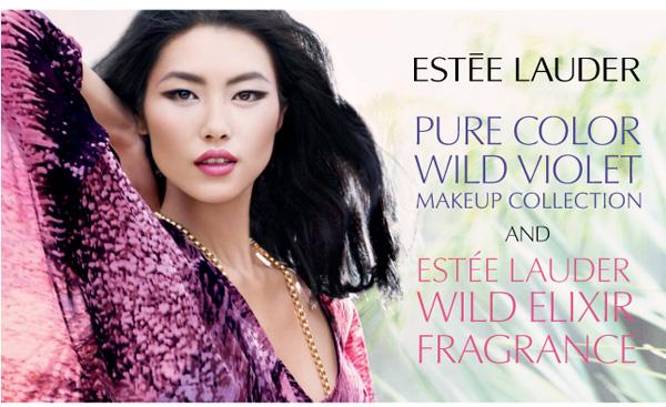 Estee Lauder Spring 2011 Wild Violet Collection promojpg Estee Lauder Wild Violet Collection for Spring 2011 & Wild Elixir Fragrance   Official Information, Photos, Prices