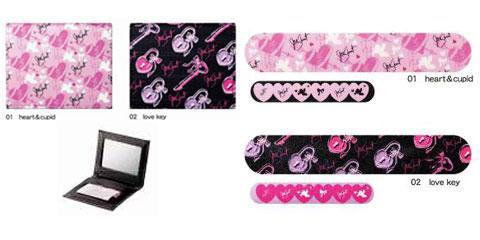Jill Stuart 2011 Spring Valentine Love Makeup nail file makeup absorbing tissues Jill Stuart Valentine Love Collection for Spring 2011 & Valentines Day