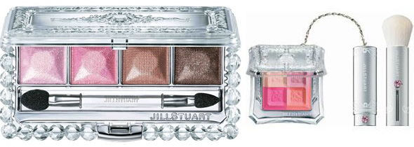 Jill Stuart 2011 Spring quadra blush eyeshadow palette Jill Stuart Makeup Collection for Spring 2011   New Photos