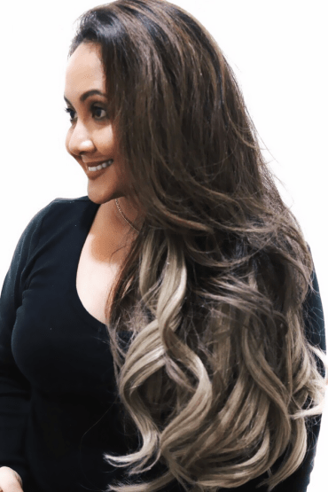 Chicsy-Hair-Ombre-Blonde-Halo-Clip-In-Hair-Extensions-Custom-Hair-Extensions-1
