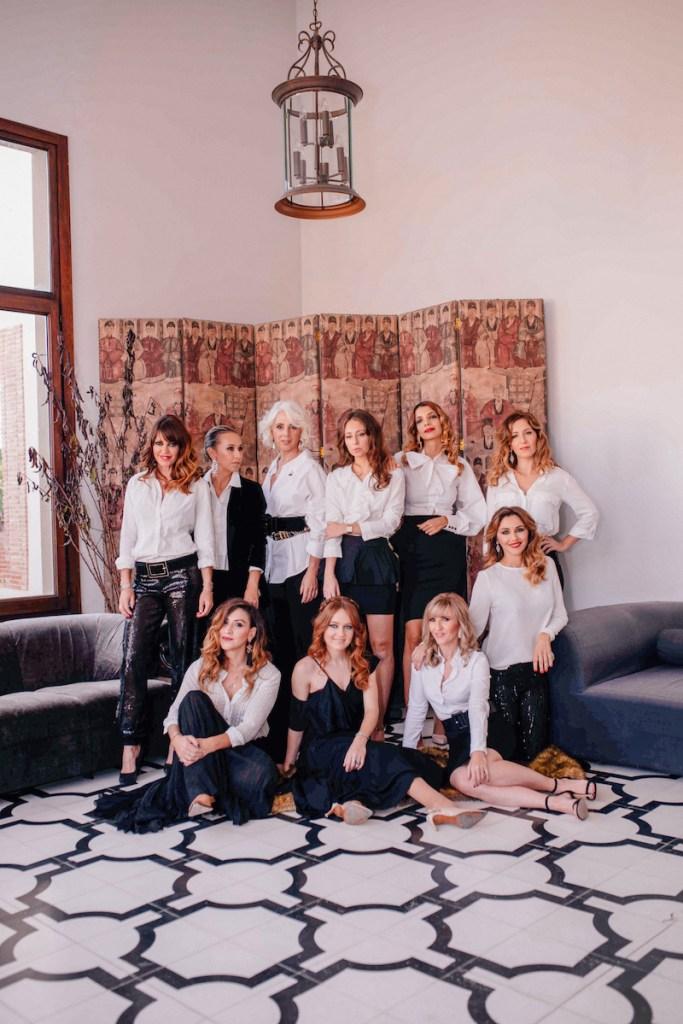 Shotting moda mujeres empoderadas