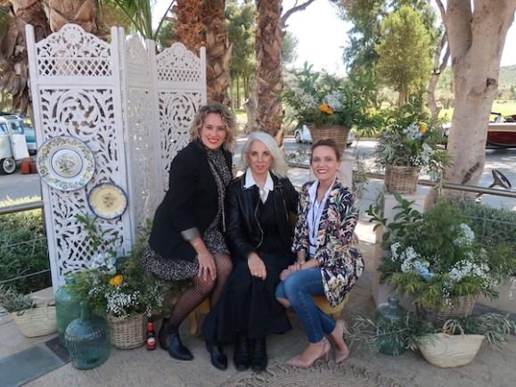 Jessica Andreu de Bodas con Estilo, Ana Espadas de CHIC trends y Yaiza Vicedo de El Plantío Golf Resort