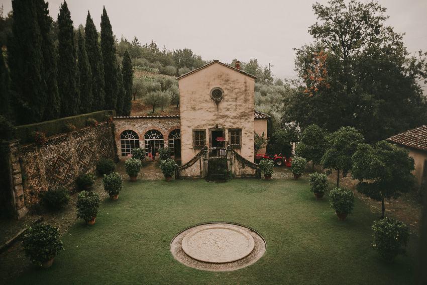 Boda real en la Toscana por Pablo Laguía