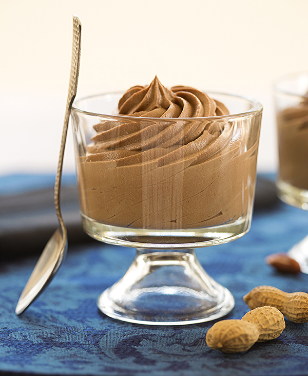 Laura Theodore's Vegan Peanut Butter Chocolate Mousse