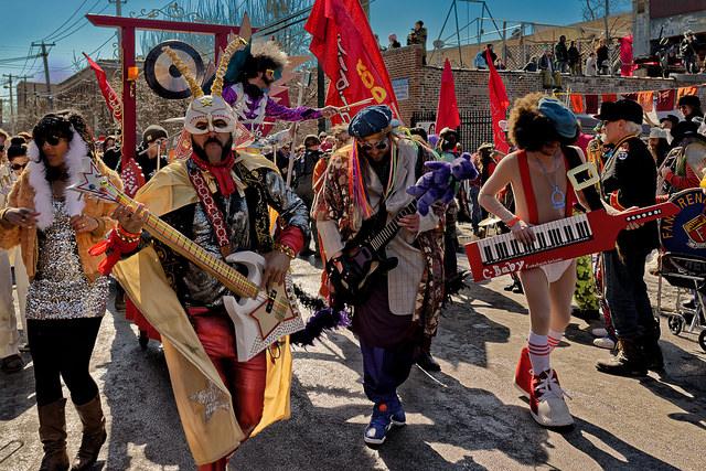 2014 Best Art Cart - Chubby Funkadelics