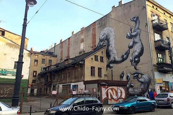 Lodz mural