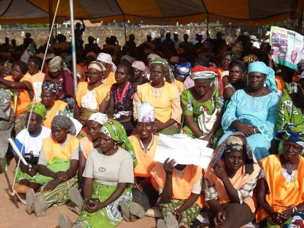 AFRICAN WOMEN'S LONG WALK TO FREEDOM