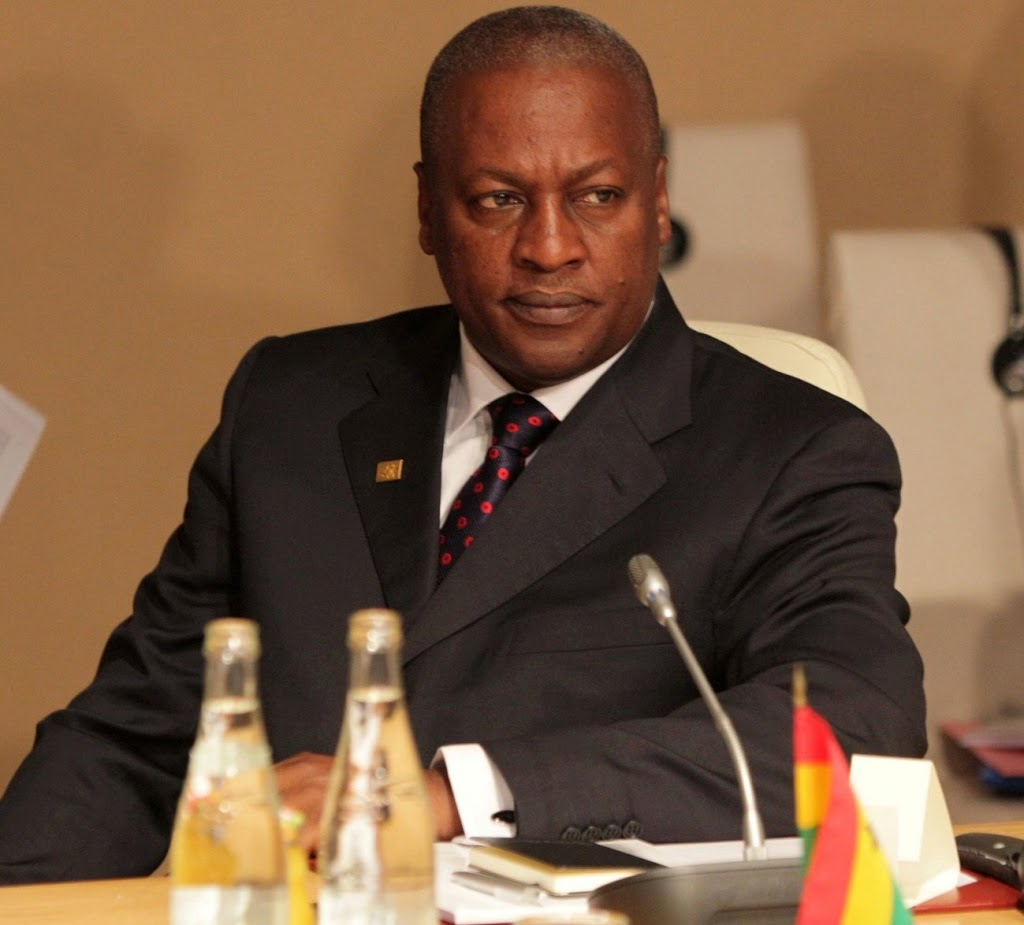 In Bed with the President of Ghana?