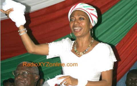 The greater the challenge, the bigger our love for Ghana: Samia Nkrumah