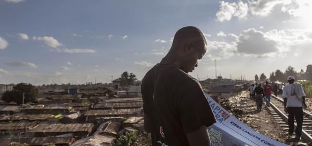 Kenyan slum reporters mobilise for peaceful elections