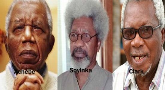 Wole Soyinka, J. P. Clark on the passing of Chinua Achebe