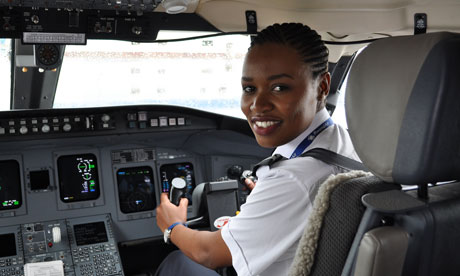 Rwanda's first female pilot takes to the skies at 24