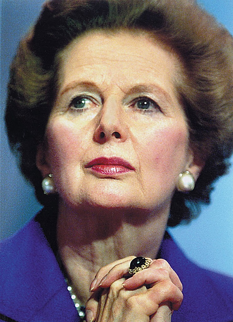 "Britain's ""Iron Lady"" Margaret Thatcher dies"