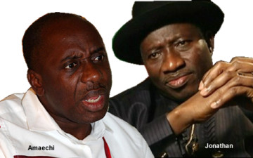 Jonathan and Amaechi volte-face: widening the gulf