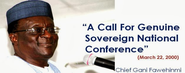 Renewed agitation for the Sovereign National Conference (SNC): Whose sovereignty? Which nation? What conference?