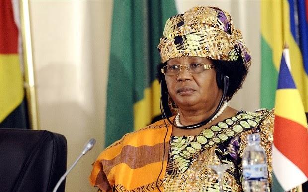 Malawi's Joyce Banda takes 30 per cent salary cut
