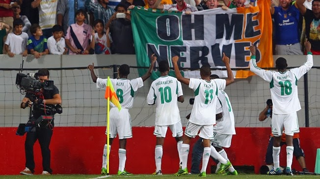 U-17 World Cup final: Nigeria 3; Mexico 0