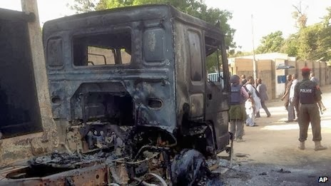 Nigeria crisis: Boko Haram attack Maiduguri airbase