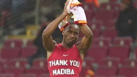 Drogba, Eboue in trouble over Mandela tributes on shirts
