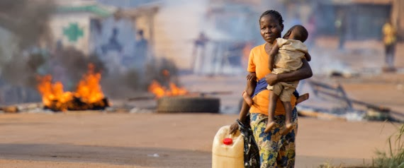 Violence in Central African Republic displaces nearly 1 million