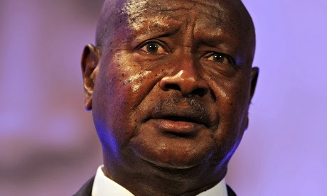 Ugandan president signs controversial anti-gay bill: Bishop Tutu equates it to Nazi hatred