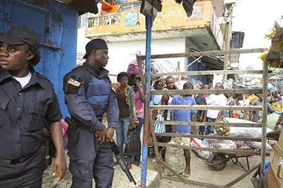 In attempts to contain Ebola, Liberia censors its press