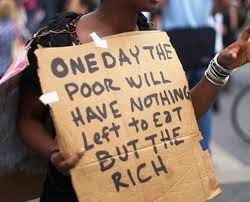 The unrelenting war on the poor in the midst of ruling elite profligacy