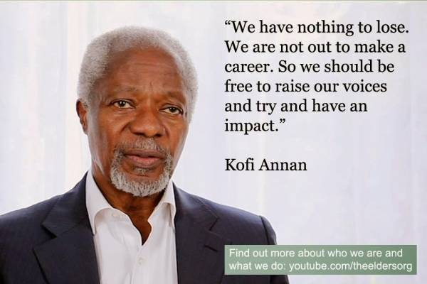 Kofi Annan to address civil society groups in Nigeria on electoral integrity