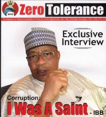 Corruption: I was a saint – IBB