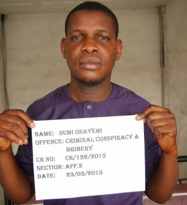 Yahoo Boy in trouble for attempting to bribe EFCC operatives