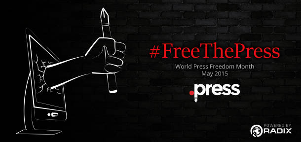 Celebrate World Press Freedom Day with IJNet and Radix