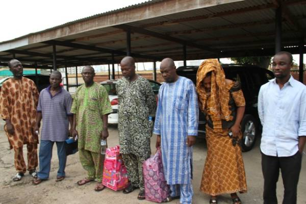 N8bn currency recycling scam: Six CBN executives remanded in prison