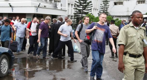 EFCC arraigns three Russians, eight Filipinos, others for Illegal oil bunkering