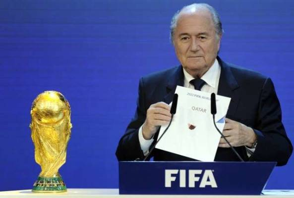 Sepp Blatter says he will resign as FIFA president