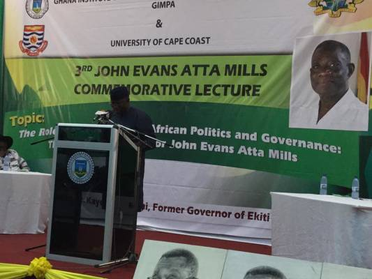 Intellectuals in politics and governance in Africa: The lessons and legacies of Professor John Evans Atta Mills