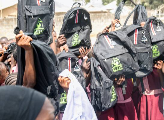 The school bag project for girls in northern Nigeria